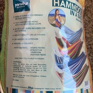 paradise hammocks Other - Paradise hammock in a bag colorful #findyourbliss